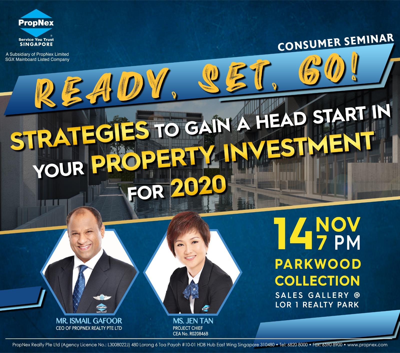 Singapore Real Estate | Property | Retirement Planning | Jen Tan | Consumer Seminar | Parkwood Collection