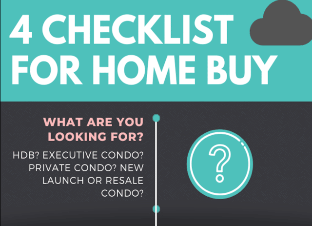 4 checklist for homebuyers
