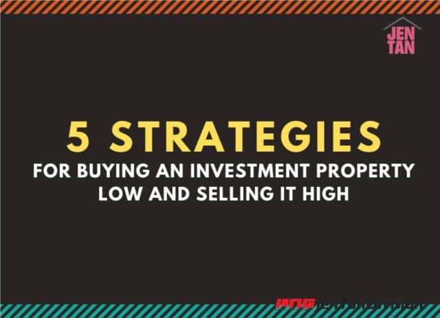 5 Strategies for buying an investment property low and selling it high